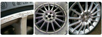 Kerbed Alloy Wheel Repair & Refurbishment