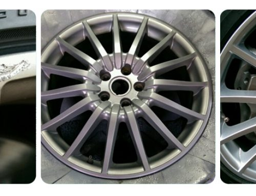 Alloy Wheel Kerbing Repair
