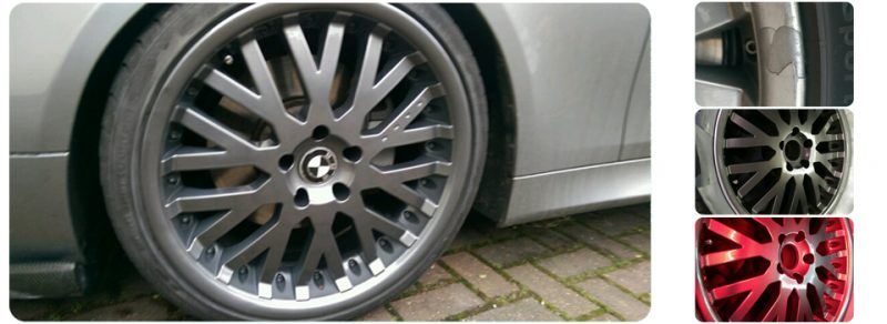 BMW Alloy Wheel Refurb