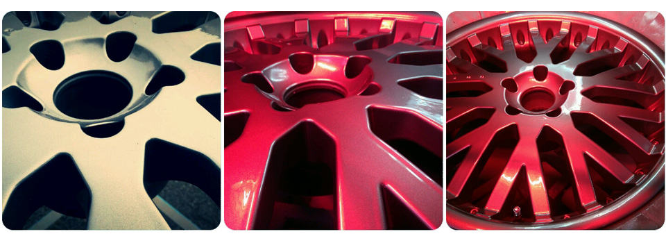 Alloy Wheel Refurb UV Curing