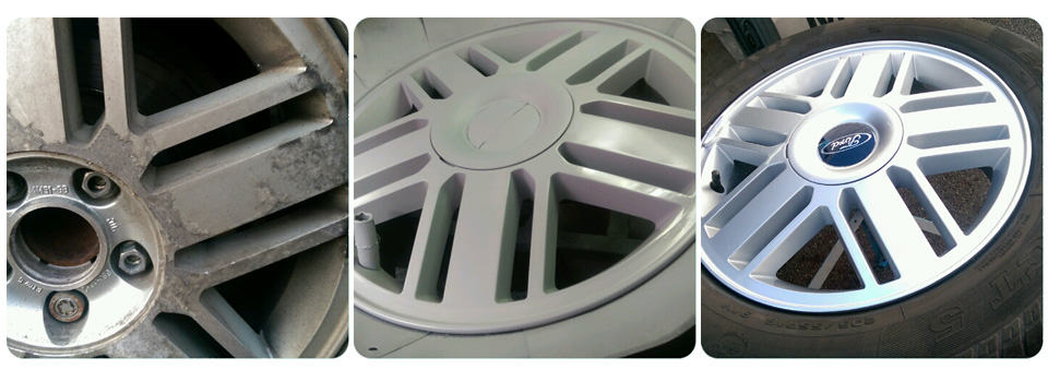 Ford Alloy Wheel Repair and Refurbishment