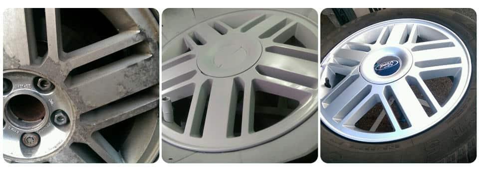 Ford Alloy Wheel Repair and Refurbishment