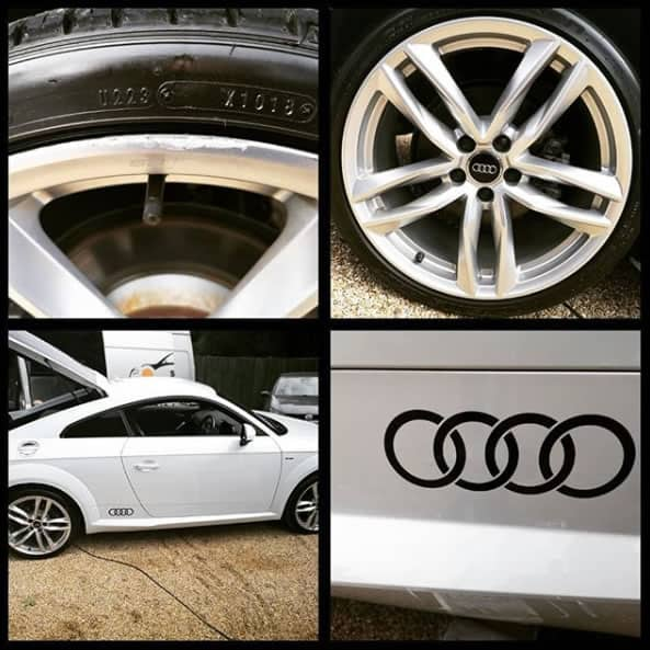 Audi TT Alloy Wheel Refurbishment