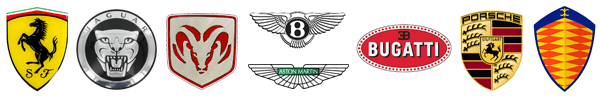 Car Manufacturers Badges