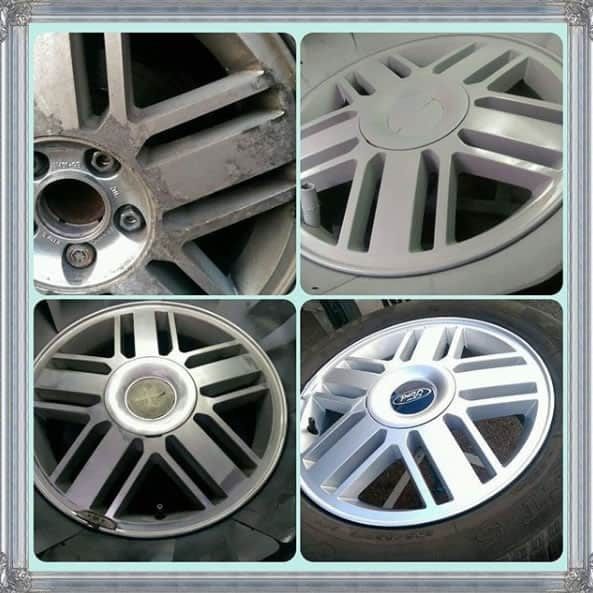 Ford Alloy Wheel Refurbishment