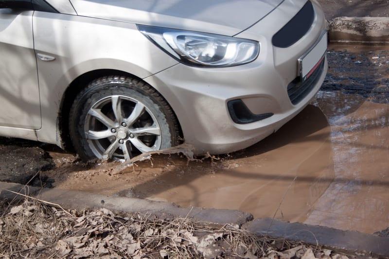 Alloy Wheel Pothole Buckle
